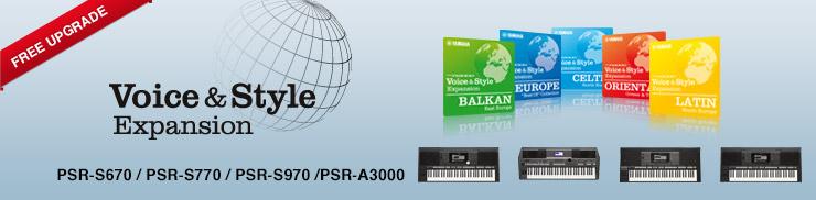 Yamaha PSR-S Keyboards