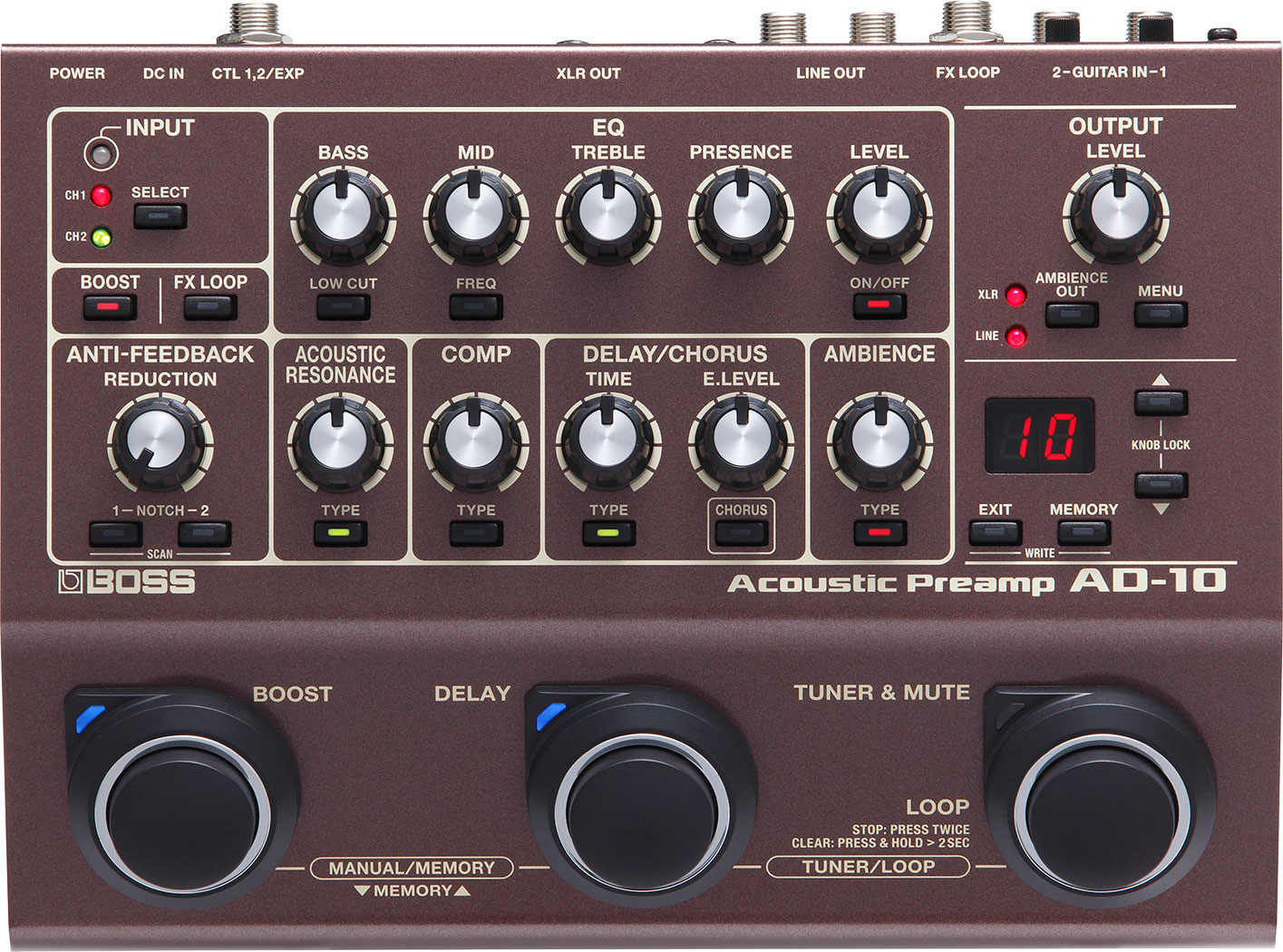 Boss Effektgerte Circuits Gt Dd 2 Digital Delay Guitar Pedal Schematic Diagram Ad 10 Acoustic Preamp