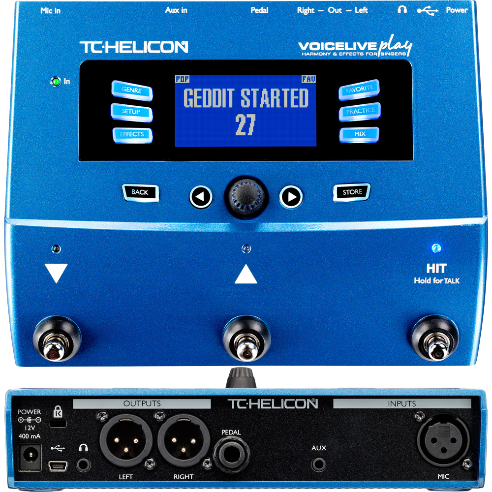 TC Helicon Voice Life Play